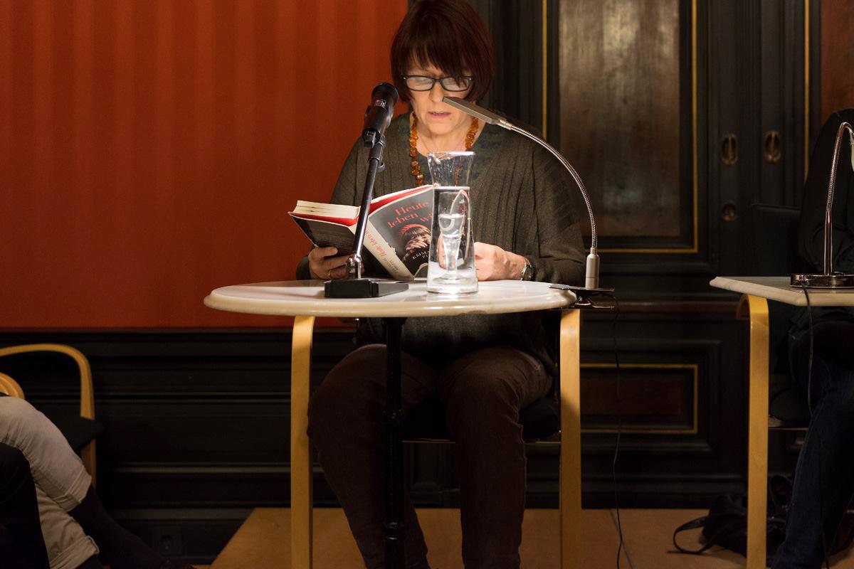 Bettina Römer Lesung Heute leben wir