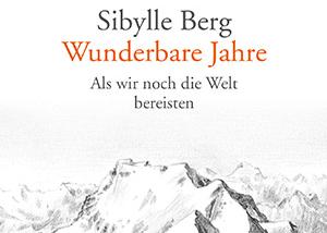 """Bettina Römer liest """"Wunderbare Jahre"""" von Sibylle Berg für den Deutschlandfunk"""