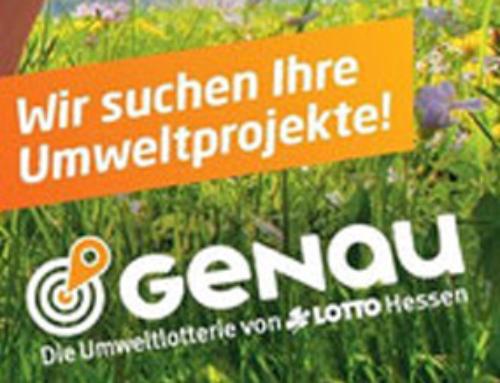 GENAU UMWELTLOTTERIE 2016 / FUNKSPOT